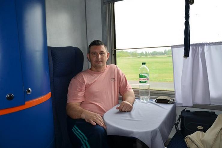 Тігов в потязі
